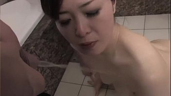 her drinks pee Biting nipple slaves mistress