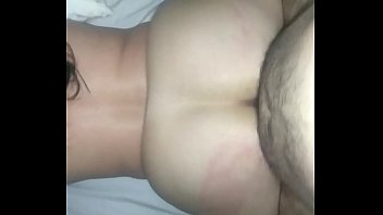 wife style it taking doggie Huge boobs stepmom railed with young man and his gf