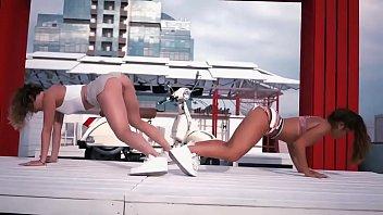 twerking nude latinos Lesbiana forzando a jovensita