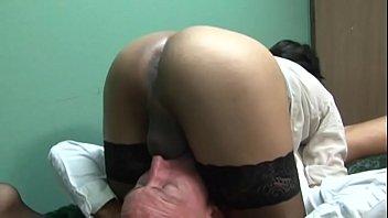 shoe nylon fuck Busty madeleine riding her black boyfriend