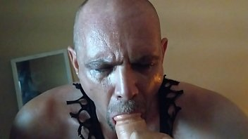 forced husband cock suck front in wife of to masters Joi jerk off encouragemnt ass play