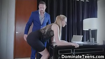 spanking otk gay Girl eating his cum out of pussy