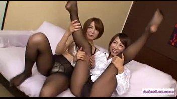 kissing lezbian asian Wank it now elle